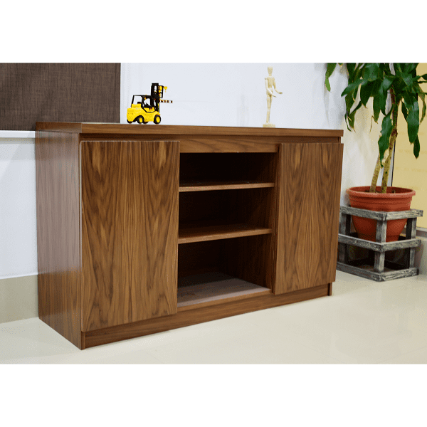 Office Credenza American Walnut
